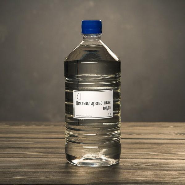 Дистиллированная вода (1 л)