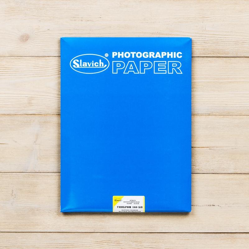 Славич Унибром 160 БП картон, матовая, нормальная 18х24 см (25 листов)